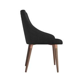 Cadeira de Jantar Evelyn TA Bronze em Veludo Inca 13