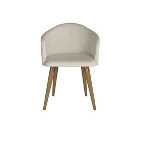 Cadeira de Jantar Kari Cinamomo em Linho Linked 02