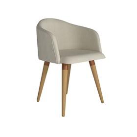 Cadeira de Jantar Kari Cinamomo em Linho - Linked 02