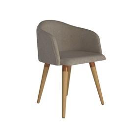 Cadeira de Jantar Kari Cinamomo em Linho Linked 75