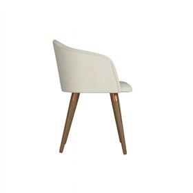 Cadeira de Jantar Kari Natural em Linho - Linked 02