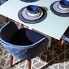 Cadeira de Jantar Kari Ta Natural em Veludo - Inca 06
