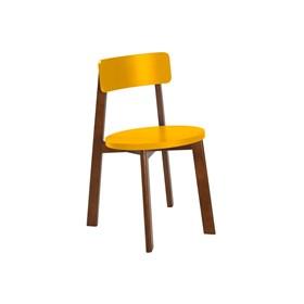 Cadeira de Jantar Madeira Maciça Rupin