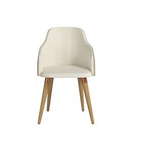 Cadeira de Jantar Martha Ta Cinamomo em Tecido Linho Linked 02