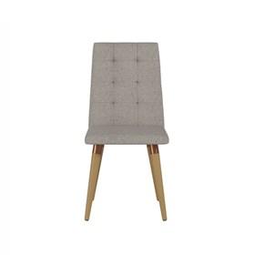 Cadeira de Jantar Olga Cinamomo em Linho Alpha 80