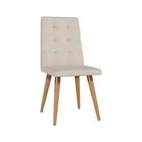 Cadeira de Jantar Olga Cinamomo em Linho Linked 02