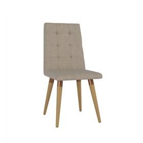 Cadeira de Jantar Olga Cinamomo em Linho Linked 75