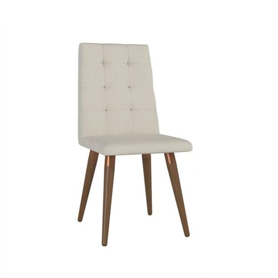 Cadeira de Jantar Olga Natural em Linho Linked 02
