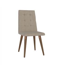 Cadeira de Jantar Olga Natural em Linho Linked 75