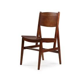Cadeira de Jantar Onoki Madeira Maciça Cacau