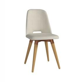 Cadeira de Jantar Selina Giratória Cinamomo em Linho - Linked 02