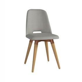 Cadeira de Jantar Selina Giratória Cinamomo em Linho Linked 35