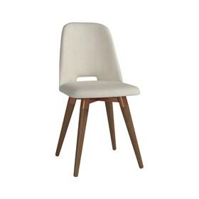 Cadeira de Jantar Selina Giratória Natural em Linho - Linked 02