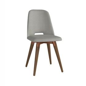 Cadeira de Jantar Selina Giratória Natural em Linho Linked 35