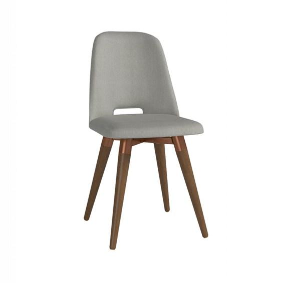 Cadeira de Jantar Selina Giratória Natural em Linho - Linked 35