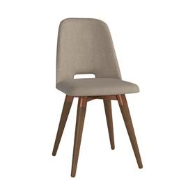 Cadeira de Jantar Selina Giratória Natural em Linho Linked 75