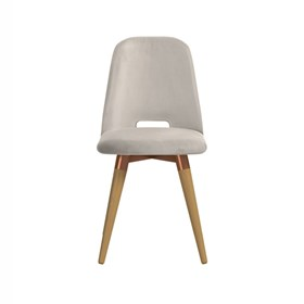Cadeira de Jantar Selina Ta Giratória Cinamomo em Veludo - Inca 02