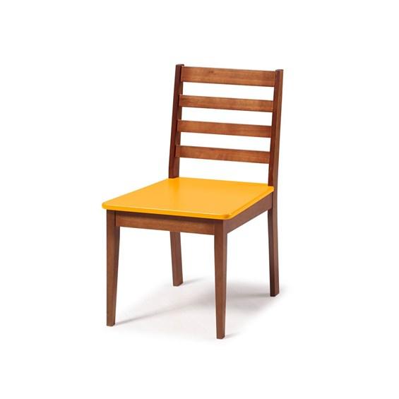 Cadeira Diana em Madeira Maciça 2 Cores