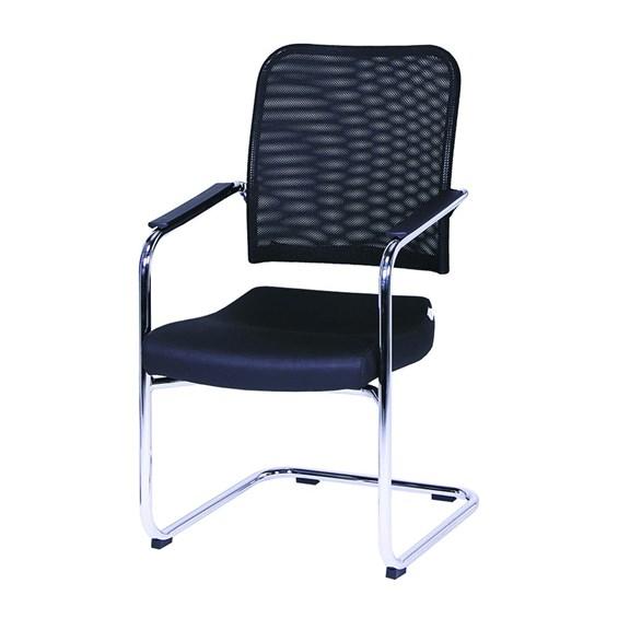 Cadeira Diretor Cromada Fixa