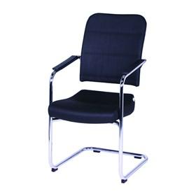 Cadeira Diretor Fixa Cromada