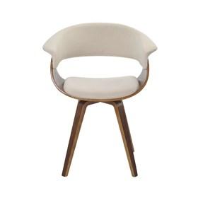 Cadeira Drammen C/Base Giratória - Creme