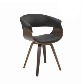Cadeira Drammen C/Base Giratória - Preto