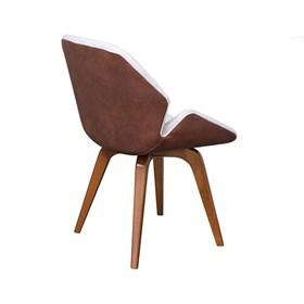 Cadeira Dunkard em Estofado C/Base Fixa