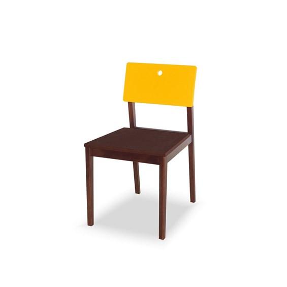 Cadeira Elgin em Madeira Maciça 2 Cores