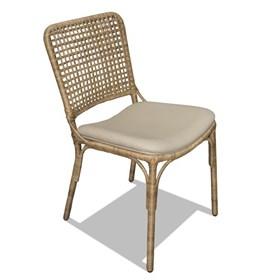 Cadeira Enbru de Alumínio Revestido C/Fibra Junco