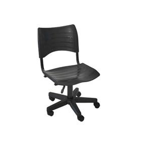 Cadeira Giratória para Escritório Preta