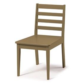 Cadeira Helena em Madeira Maciça  - Marrom Claro