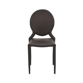 Cadeira Ighalo C/Estrutura de Metal - Marrom