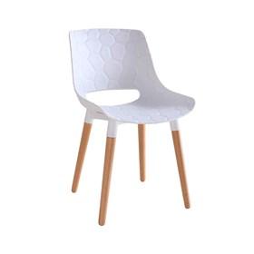 Cadeira Kethlen em Polipropileno - Branco