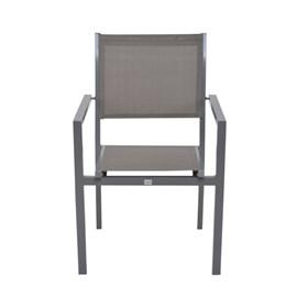 Cadeira Labrum em Alumínio - Cinza