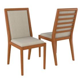 Cadeira Lavrine em Madeira Maciça