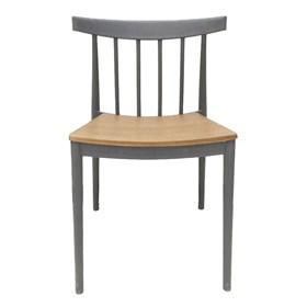 Cadeira Leeds com Assento em Madeira Laminada Tango