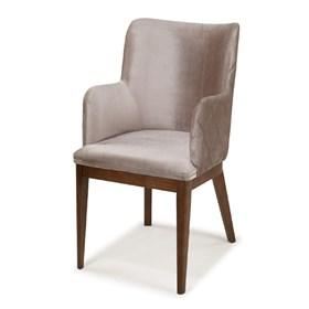 Cadeira Lening C/Braço em Madeira Maciça
