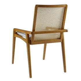 Cadeira Logan em Madeira Maciça C/Tela Natural