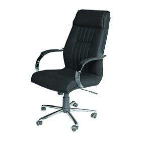 Cadeira Londres Presidente Giratória em Couro PU