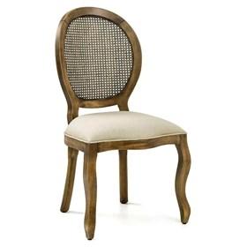 Cadeira Lustef Rústica de Madeira Maciça