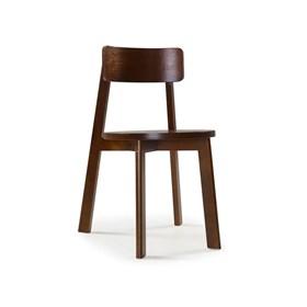 Cadeira Madeira Maciça Rupin Cacau