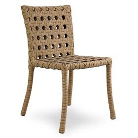 Cadeira Marino em Alumínio Revestido de Fibra Sintética