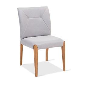 Cadeira Matthew em Madeira Maciça e Estofado