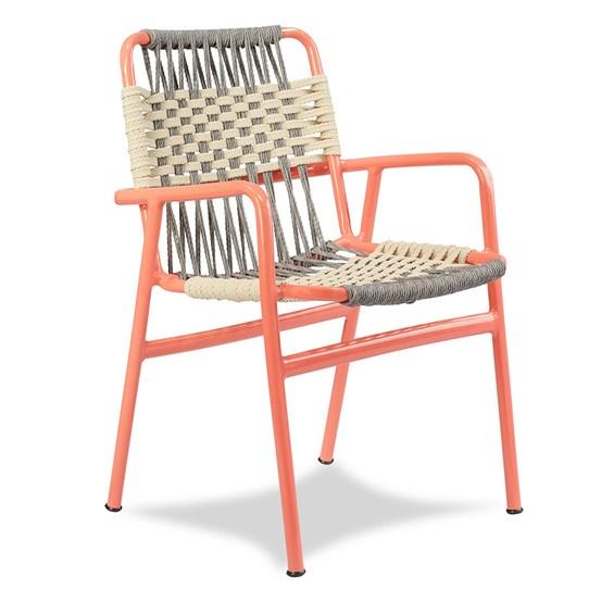 Cadeira Mayerling em Corda Náutica