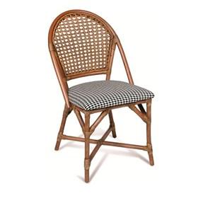 Cadeira Mepes em Madeira Apuí C/Fibra Junco