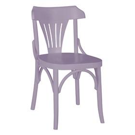 Cadeira Merione em Madeira Maciça - Lilás