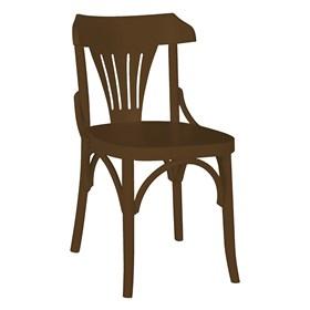 Cadeira Merione em Madeira Maciça - Marrom