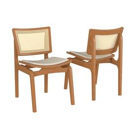 Cadeira Modesto em Madeira Maciça
