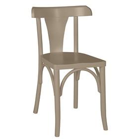 Cadeira Modri em Madeira Maciça - Bege