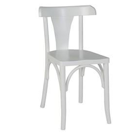 Cadeira Modri em Madeira Maciça - Branco